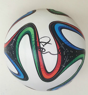 Tim Cahill Signed Australia World Cup Brazuca Football 2014 + Photo Proof