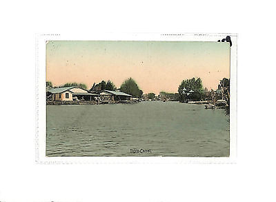 P21 Argentina Tigre-Canal Postcard