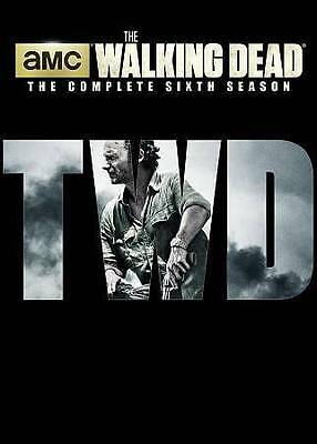 The Walking Dead: The Complete Season 6 Sixth (DVD, 2016, 5 Disc Set) New Sealed