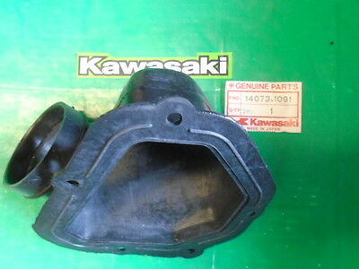 Genuine Kawasaki Kx125 Kdx200 Air Filter Duct Pt.no 14073-1091