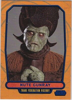 Star Wars Galactic Files Blue Parallel #10 Nute Gunray