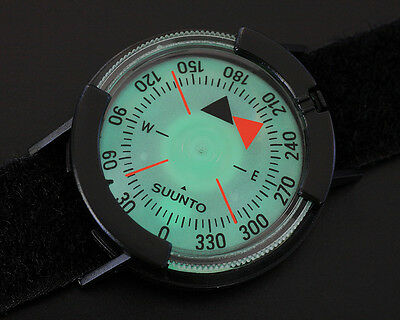 New Suunto M-9 Wrist NH Compass with Fabric Strap SS004403001