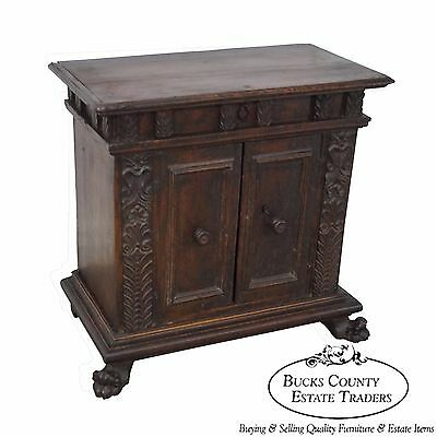 Antique 18th Century Italian Walnut Continental Server
