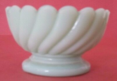 Rare Antique French Milk Glass - Cup Doll