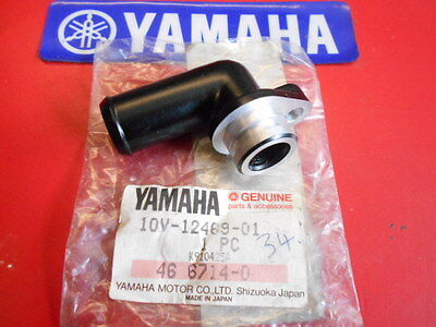 Genuine Yamaha Nos Yz250 90-95 Wr250 91-97  Water Pump Joint Pt.no 10V-12469-01