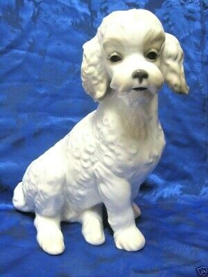 Sweet Poodle Dog Figurine Nao By Lladro  #1655