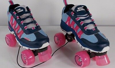 Sonic Cruiser Outdoor quad Roller Skates PINK size 6