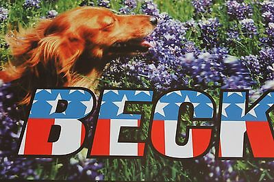 Beck 1997 Concert Poster Signed Numbered 534/600 Frank Kozik