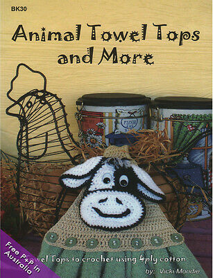 NEW Animal Towel Tops and More by Vicki Moodie