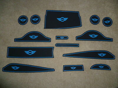 Bmw Mini R60 Countryman 2011-16 Dashboard Interior Mat Pads 14 Piece Aftermarket