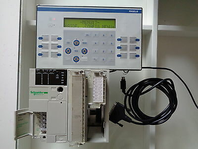Magelis Telemecanique Modicon  Xbt P021O1O And Tsx3710001 With Cable+ Modules