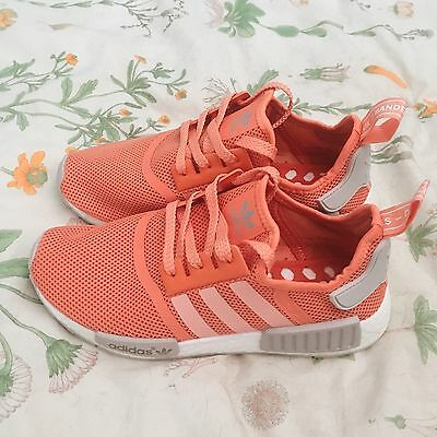 NMD R1 womens Salmon S76006 on foot review from