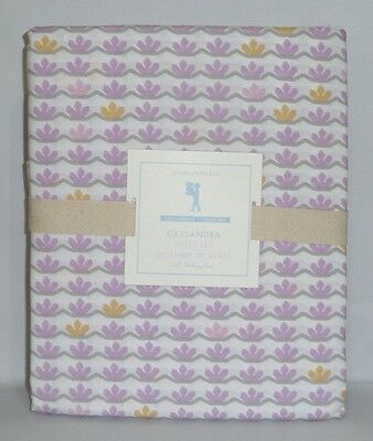 POTTERY BARN KIDS Organic Cassandra FULL Sheet Set w/Pillowcases, ORCHID, NEW