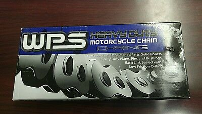 New WPS Heavy Duty Motorcycle O-ring Chain 520HSO x 120 Links 69-5820