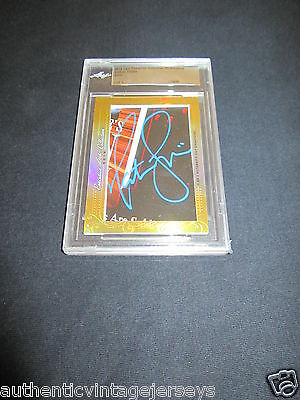 Nathan Fillion 2016 Leaf Masterpiece Cut Signature card 1/1 JSA Firefly Serenity