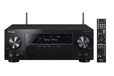 Pioneer 165W 7.2 Channel AV Receiver with 4K Upscaling, Dolby Atmos, Wi-Fi and