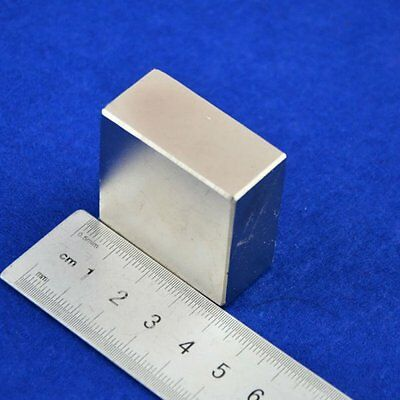 Block 40x40x20mm Super Strong High Quality Earth Neo Magnet Neodymium Useful HOt