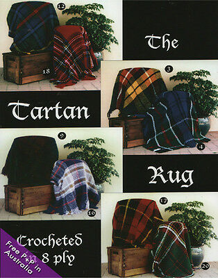 The Tartan Rug Book by Jenny  King