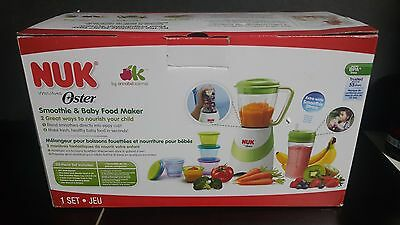 NUK Smoothie & Baby Food Maker with Accessories