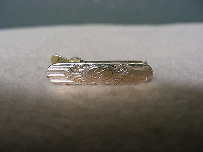 """Antique """" FUR CLIP by F-P Co. ( FORD PERRY CO. ):  Gold Filled / Plate?:  NICE!!"""