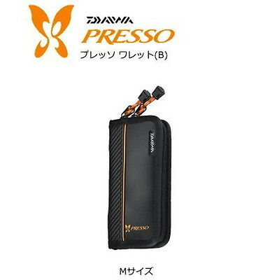 Presso Wallet Fishing Spoon Lure Case Pouch Holder Size M Daiwa from Japan New