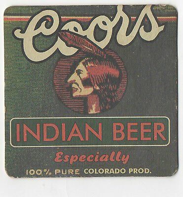 Birra Sottobicchiere - Coors Indian Beer