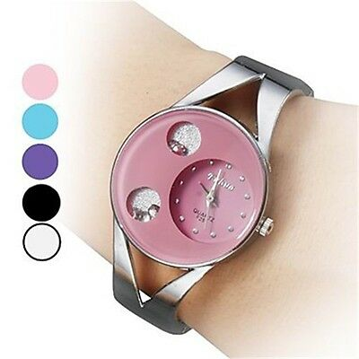 Women Wrist Casual Watch Fashion Women Ladies Dial Analog Quartz Bracelet AU