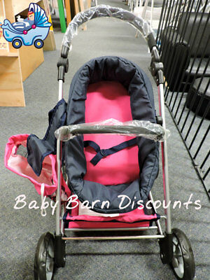 NEW La Belle - Pink Doll Stroller from Baby Barn Discounts