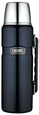 THERMOS Stainless King Isolierflasche / Thermosflasche Blue  1,2 ltr. Neu & OVP