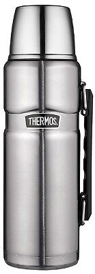 THERMOS Stainless King Isolierflasche / Thermosflasche Edelstahl 1,2 ltr. Neu