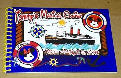 Personalized Disney Mickey & Minnie Cruise Autograph Book - MADE TO ORDER