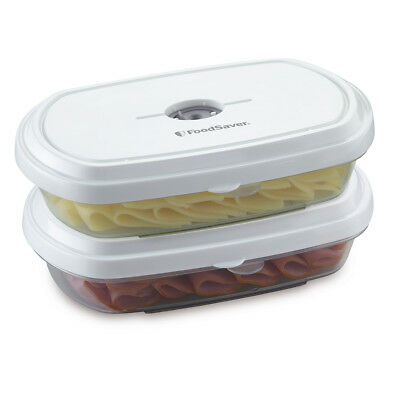 FoodSaver Meal Containers, 2 Pack - FSFRAN0224-033