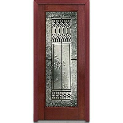 National Door Company EFM686PSP28RHWCH Mahogany Prehung Right Hand In-Swing
