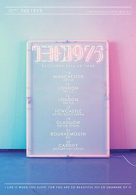 THE 1975 I Like It When You Sleep 2016 UK Arena Tour PHOTO Print POSTER Band 017