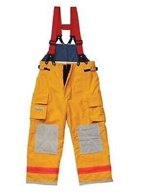 Fire Dex FX-A Assault Nomex Turnout Pants Bibs Brigade 750 2XL