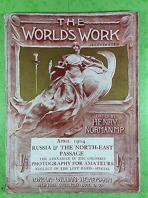 THE WORLD'S WORK & PLAY - Edwardian Shilling Monthly - April 1904 - Henry Norman