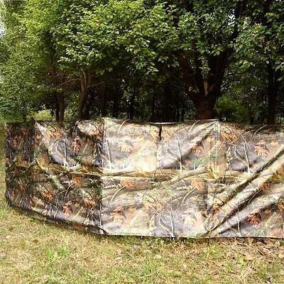 Lightweight Portable Ground Blind Hunting Outdoor Sports Game Camouflage E9P8