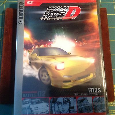 Initial D Battle 02 DVD Sealed