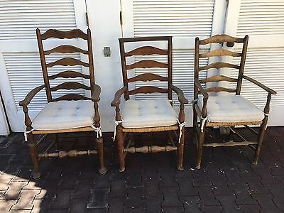 3 Antique French Country Kitchen/Dining Chairs ( antiques - by