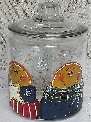 Delicieux Hand Painted Gingerbread Cookie Jar/christmas New Item By Mb