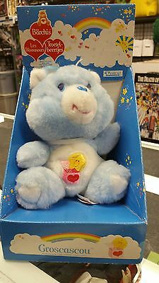 Rare Vintage Kenner Tri-Logo Surprise Care Bear Groscascou Mint In Box