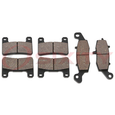 Front + Rear Ceramic Brake Pads 2006-2009 Suzuki M109R Boulevard Set Full ac