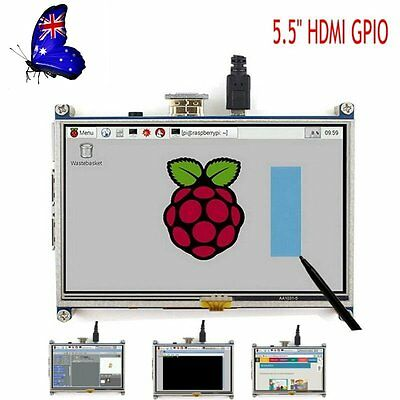 5 Inch 800x480 HDMI TFT LCD Touch Screen for Raspberry PI 3/2 Model B/B+ /A+/B #