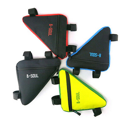 Cycling Bike Bicycle Front Frame Pannier Tube Triangle Bag Saddle Pouch AU