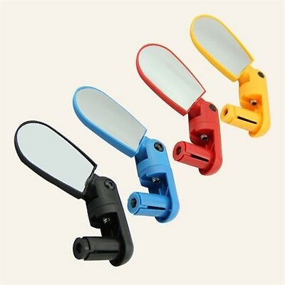 Bicycle Cycling Handlebar 180¡ã Rotate Flexible Rear view Rearview Mirror AU