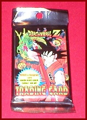 Dragonball Z Booster Card Game (9 Cards Plus 1 Holo) Pack NEW SEALED