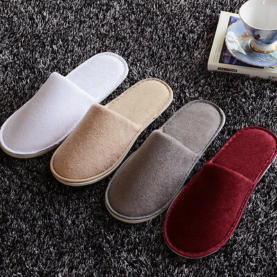 5pair/lot Sadian Breathable Disposable Slippers Hotel Slippers SPA Slippers