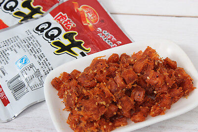Spicy Bar Chinese Snacks Tasty Food QQ Beef  Floss Tablets Delicious 28g