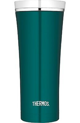 THERMOS PREMIUM Thermobecher / Isolierbecher / Becher Teal / White NEU&OVP