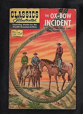 Classics Illustrated #125 G  Hrn167 (The Ox-Bow Incident) Walter Clark
